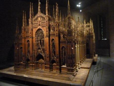 modello in legno del Duomo