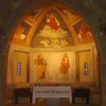 San Cristoforo - Affreschi