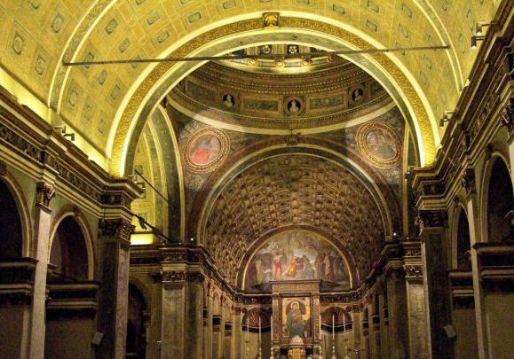 Interno Santa Maria presso San Satiro