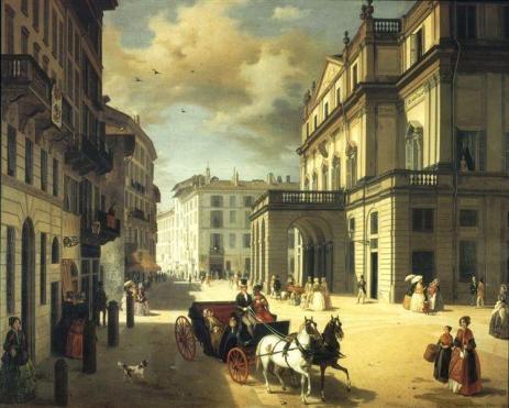 Immagine del teatro ottocentesca