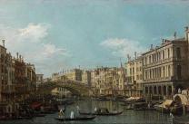 Canaletto, ponte di Rialto sul Canal Grande