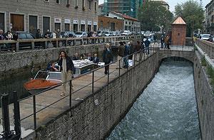 la Conchetta sul Naviglio Pavese