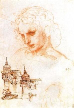 disegno a sanguigna di Giacomo il Maggiore