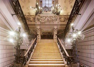 Palazzo Castiglioni -scalone
