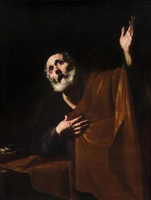 Jusepe de Ribera (Lo Spagnoletto), San Pietro penitente, 1626-1630