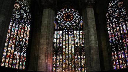 vetrata del Duomo
