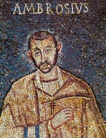 S. Ambrogio, mosaico, VI sec