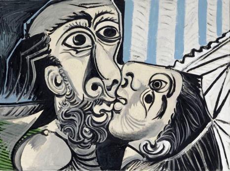 1. PICASSO Il bacio-2