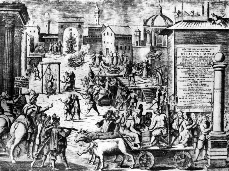 L'esecuzione di Mora e Piazza