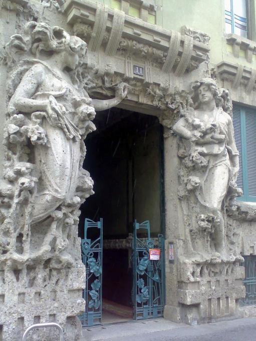 Casa Campanini - ingresso