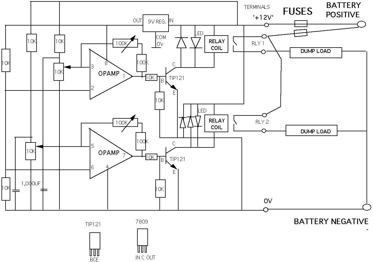 solar panel to battery wiring diagram