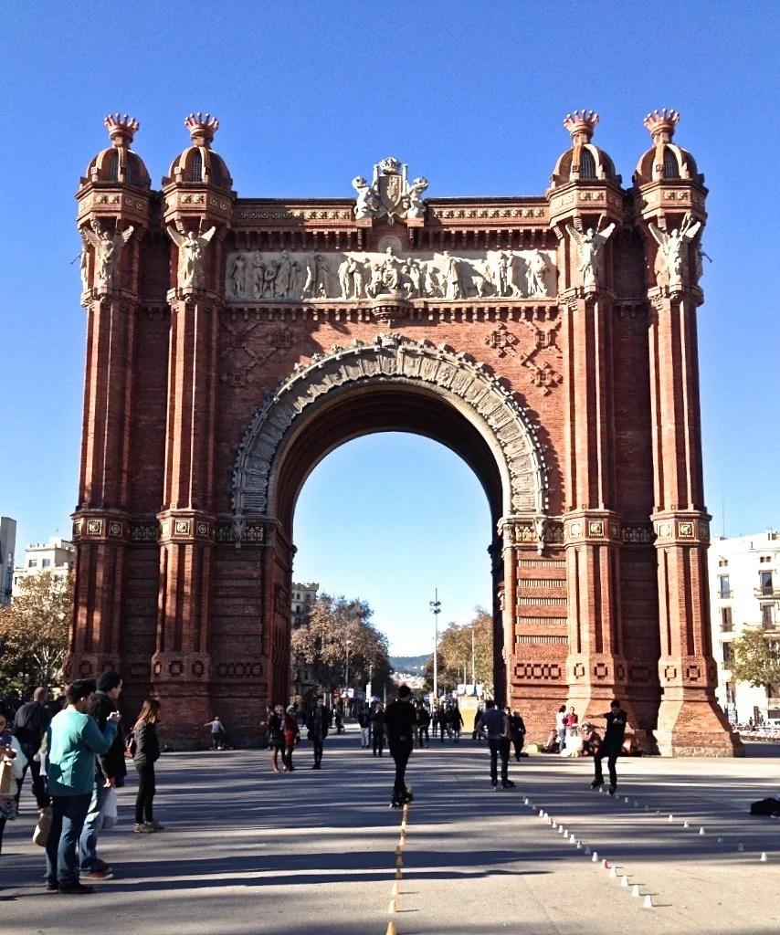 Arco di Trionfo - Barcellona (Spagna)