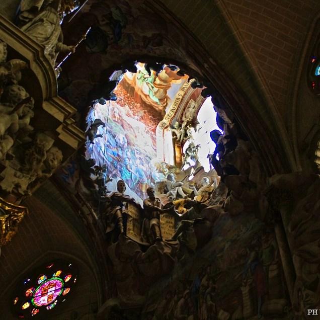El Transparente. Cattedrale di Toledo, Spagna