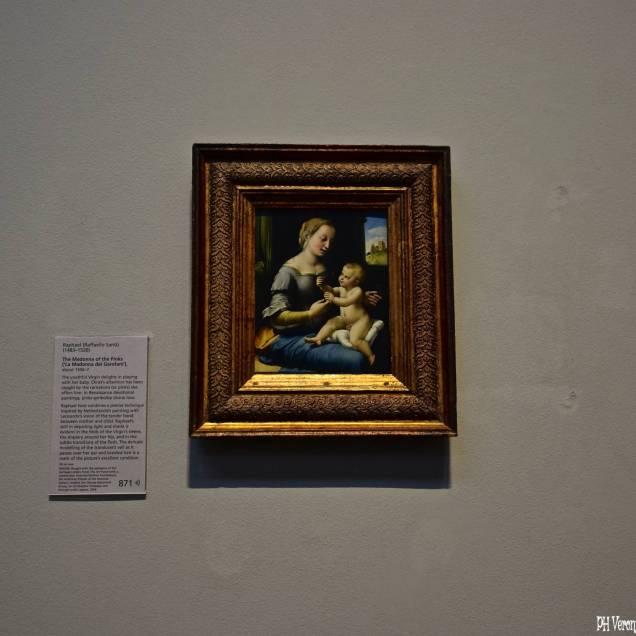 """Madonna dei Garofani"" di Raffaello - National Gallery (Londra - Inghilterra)"
