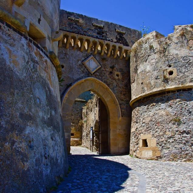 Porta di Santa Maria, Castello di Milazzo (Messina - Sicilia)