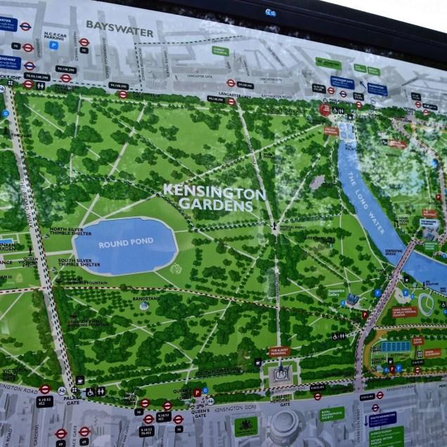 Kensington Gardens - Londra, Inghilterra