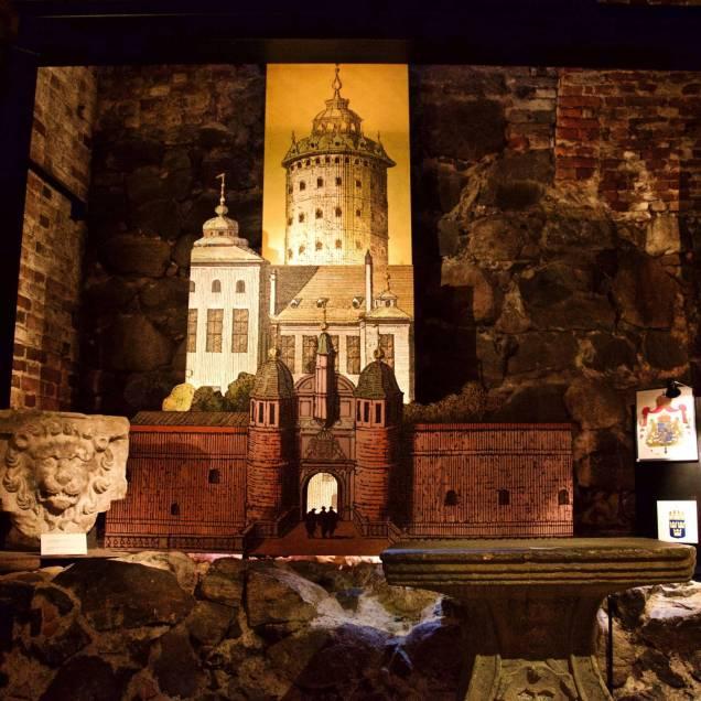 Sala del Tesoro. Stockholms slott, Palazzo Reale - Stoccolma, Svezia