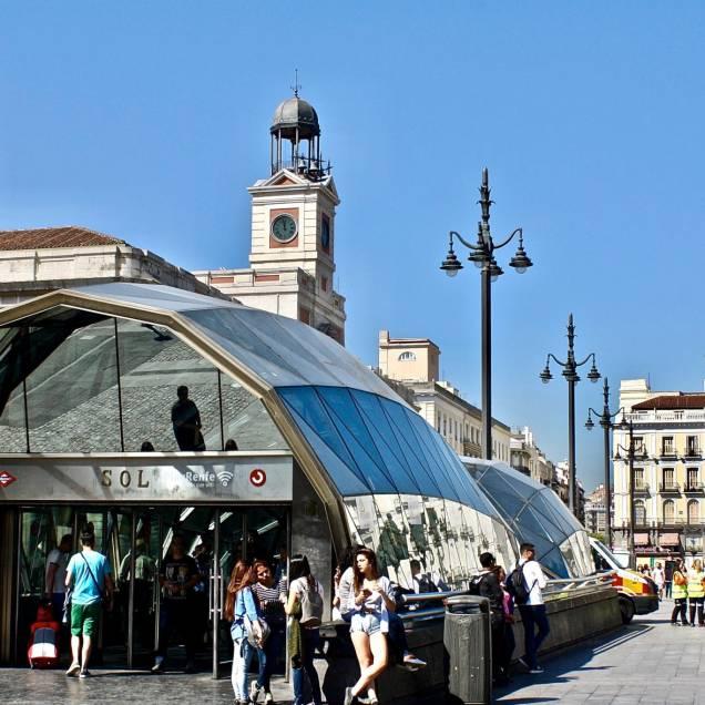 Puerta del Sol -Madrid, Spagna