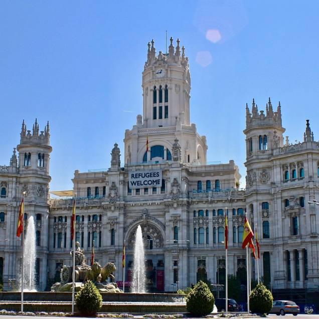 Plaza de Cibeles - Madrid, Spagna