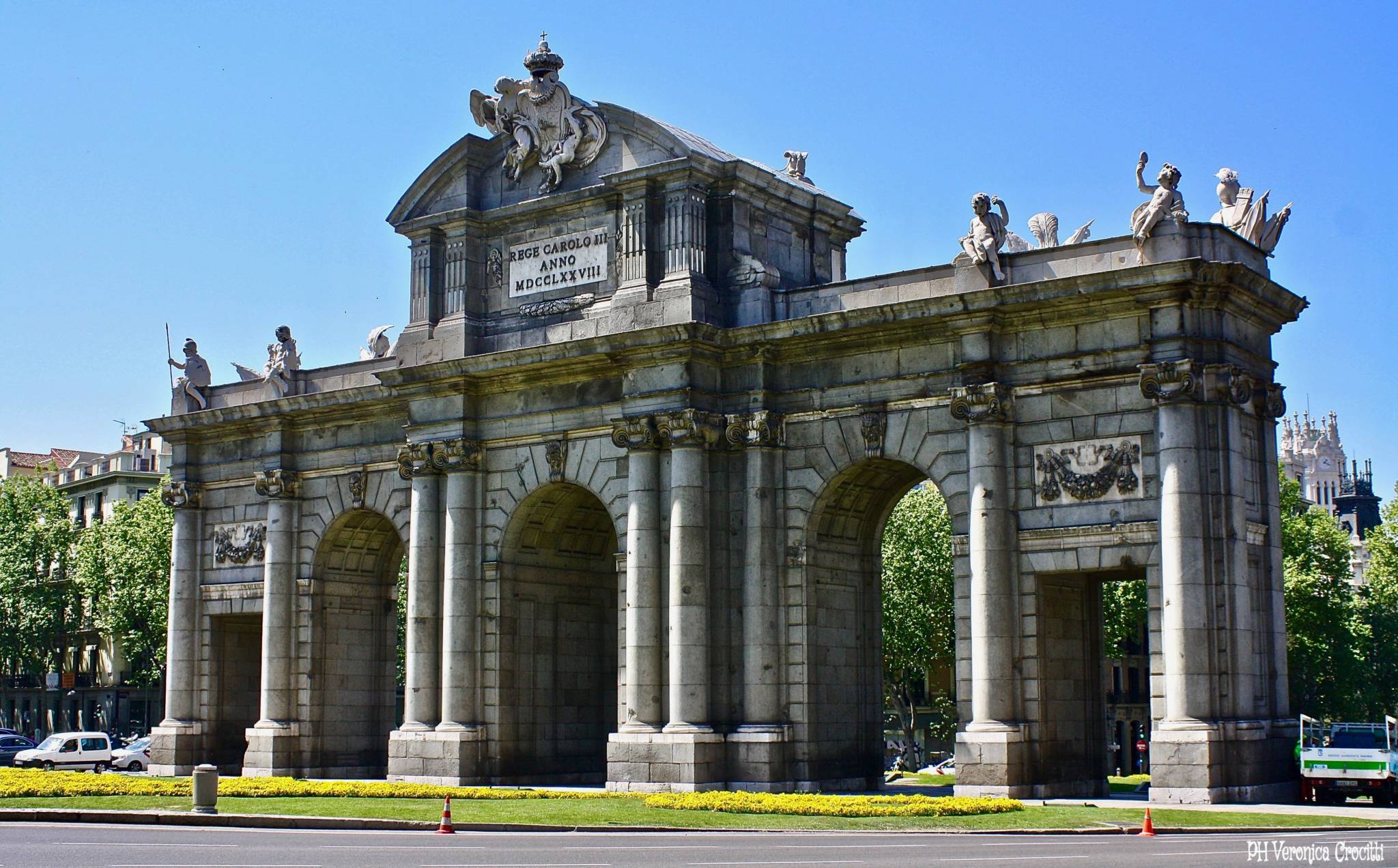 Puerta de Alcalá - Madrid, Spagna