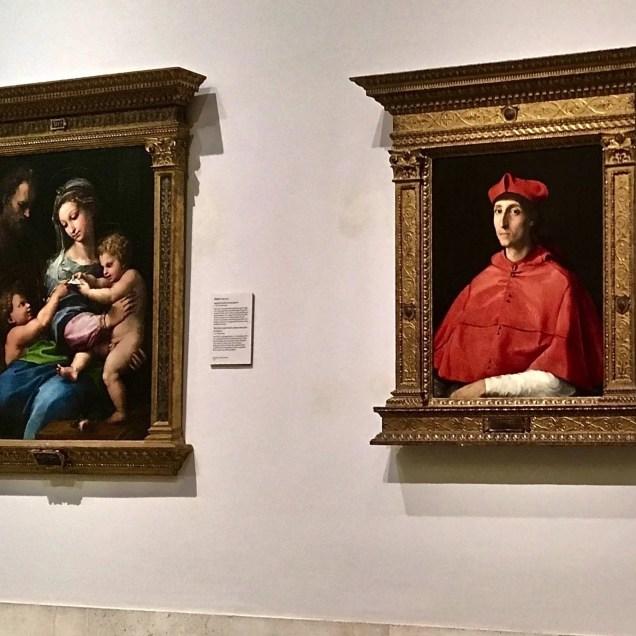 Il Cardinale, Raffaello. Museo del Prado - Madrid, Spagna