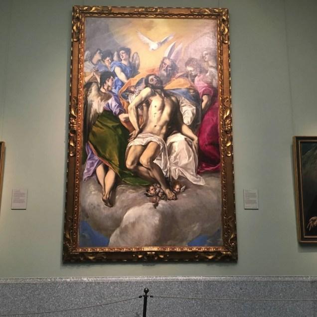 La Trinità, El Greco. Museo del Prado - Madrid, Spagna