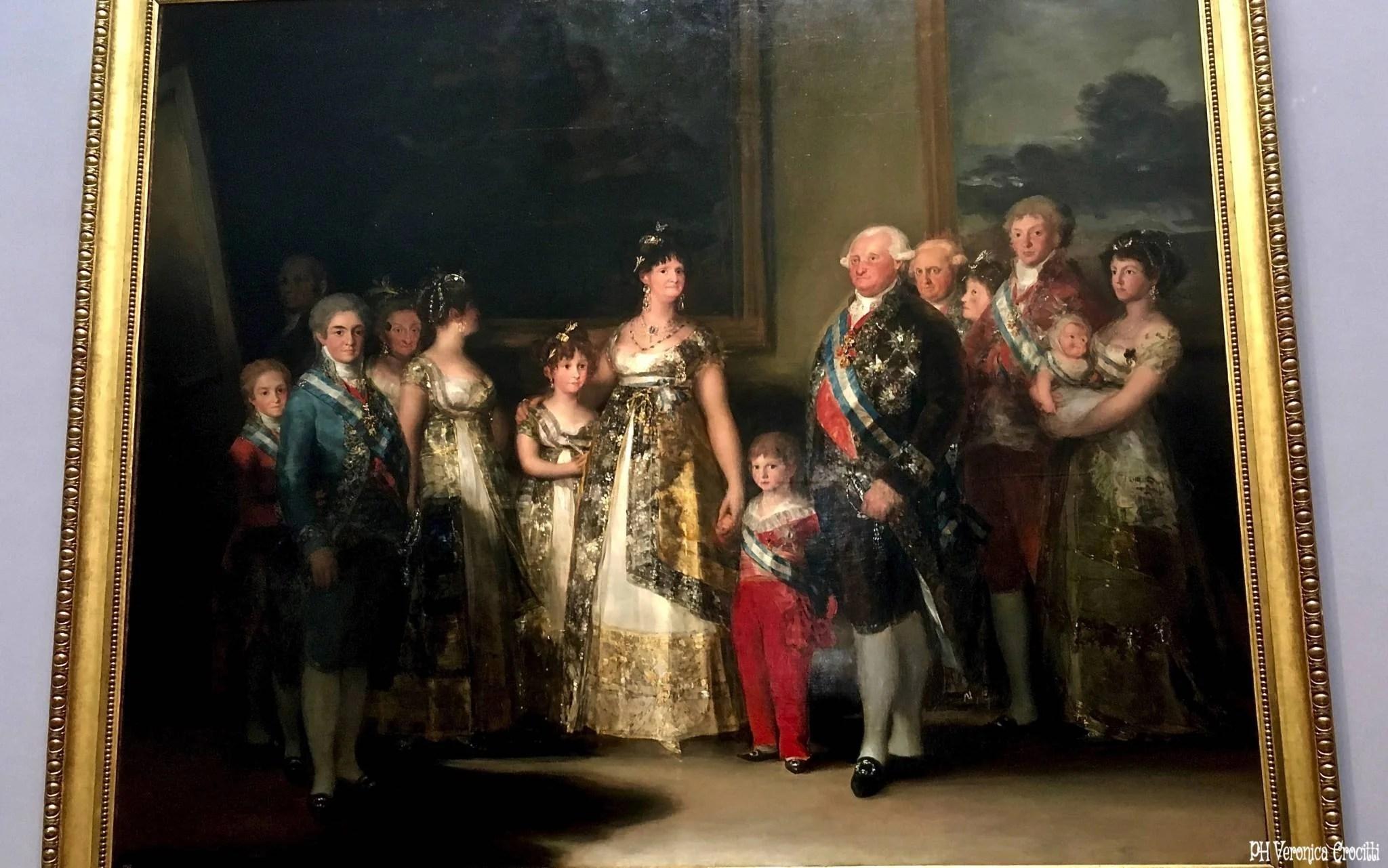 La famiglia di Carlo IV, Goya. Museo del Prado - Madrid, Spagna