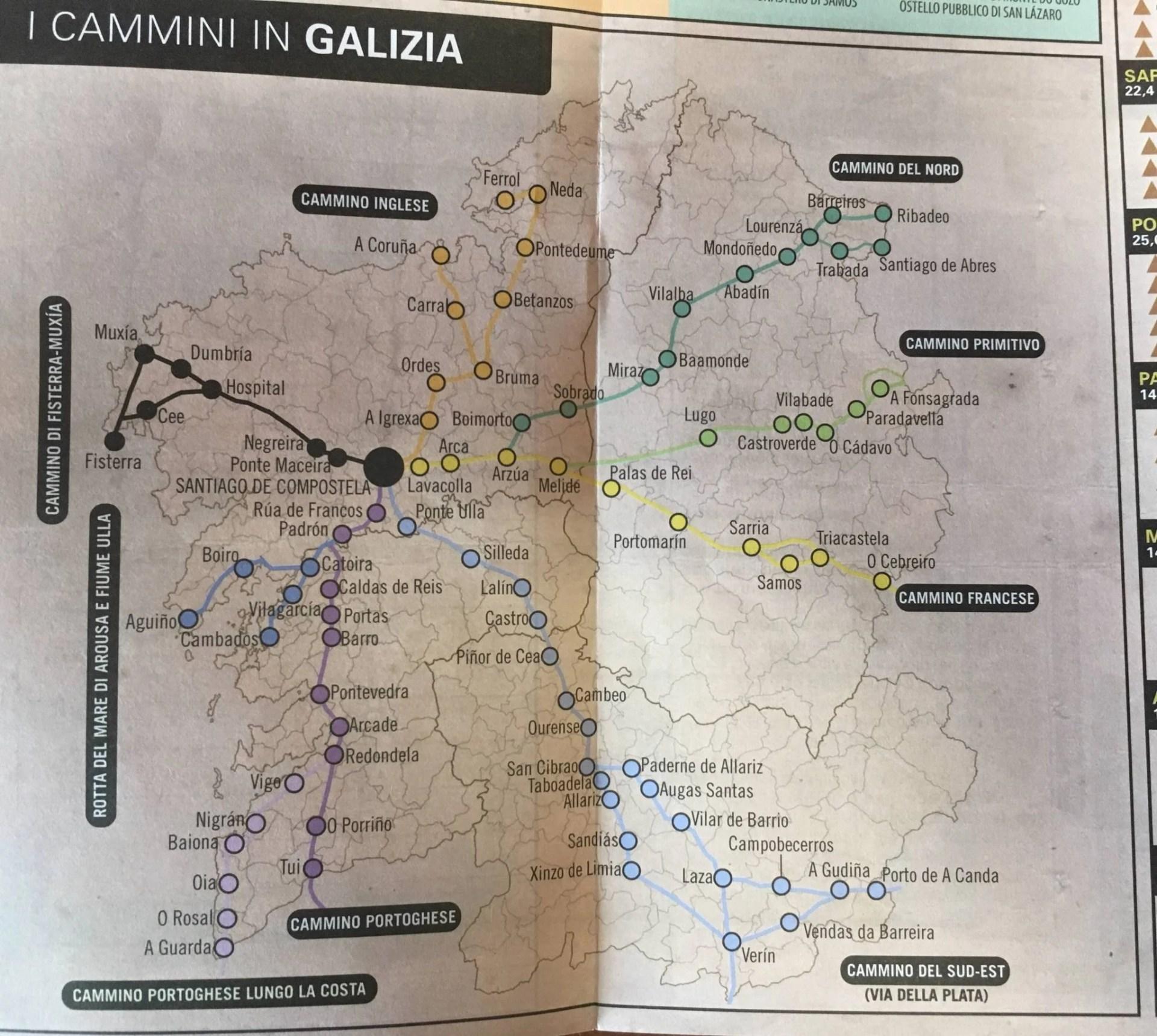 Cammino di Santiago, tappe, informazioni e consigli