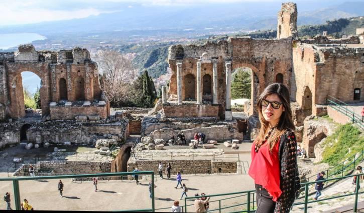 Tappa Taormina, Teatro Antico (Sicilia in 500)