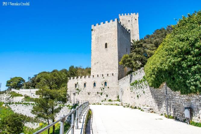 Castello di Venere, Erice (Trapani) - Settima Tappa Sicilia in 500