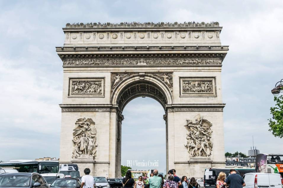 Arco di Trionfo - Parigi, Francia