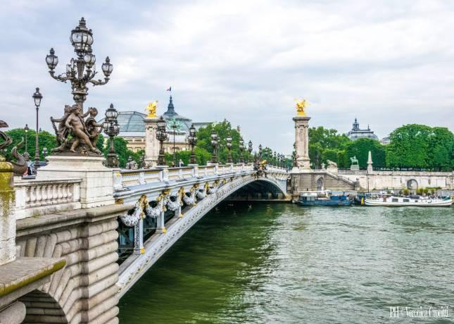 Ponte Alessandro III (Pont Alexandre III) - Parigi, Francia_3