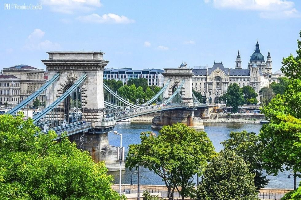 Ponte delle Catene - Budapest, Ungheria (Europa)