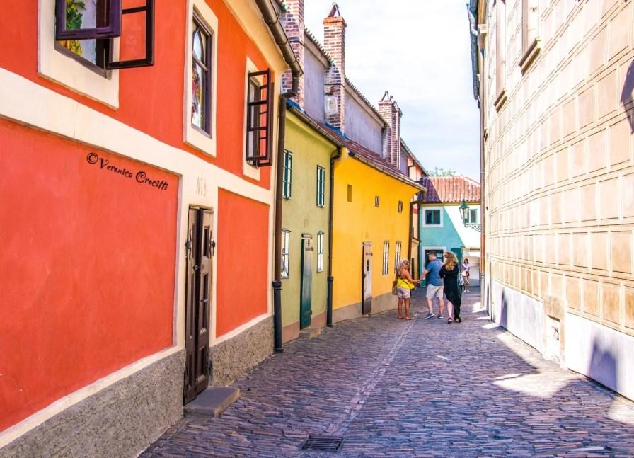 Vicolo d'Oro - Castello di Praga, Repubblica Ceca (Europa)