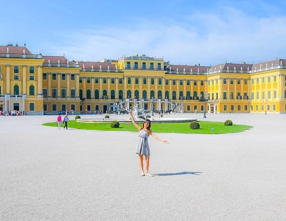 Schönbrunn Palace - Vienna, Austria (Europa)