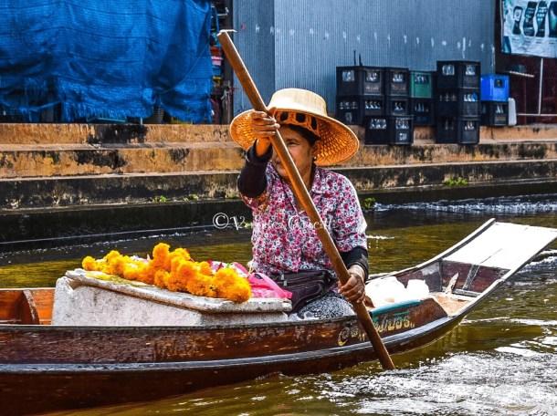 Damnoen Saduak, mercato galleggiante - Thailandia