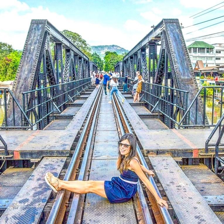 Ponte sul Fiume Kwai - Kanchanaburi, Thailandia
