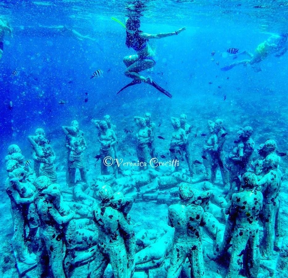 Statue subacquee di Gili Meno - Indonesia
