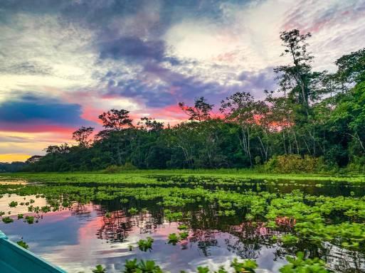 Tramonto - Foresta Amazzonica, Iquitos - Perù