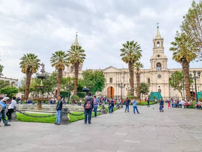 Plaza des Armas - Arequipa, Perù