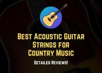 best acoustic guitar strings on country music