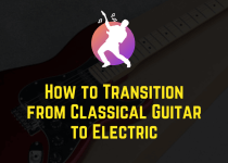 transition from classical guitar to electric guitar