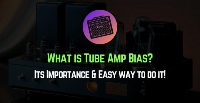 what is tube amp bias