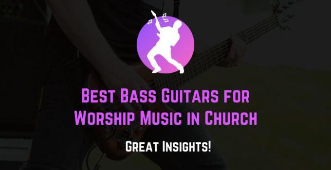 best bass guitars for church
