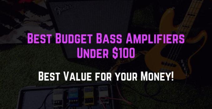 best bass amp under 100