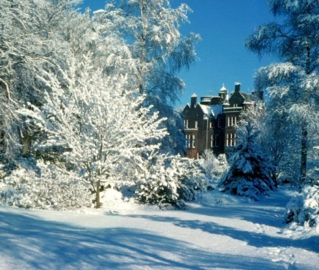 Threave House Will Be Decked With Holly For Its Special Christmas Celebrations On December