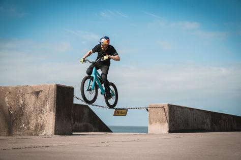 This and That is one of three films made by Danny MacAskill last September. Picture: Dave Mackison