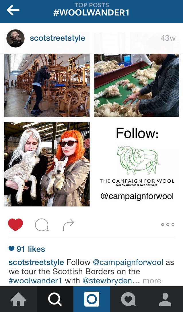 Campaign For Wool Scot Street Style Takeover