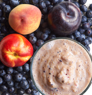 Summer Stone Fruit Smoothie