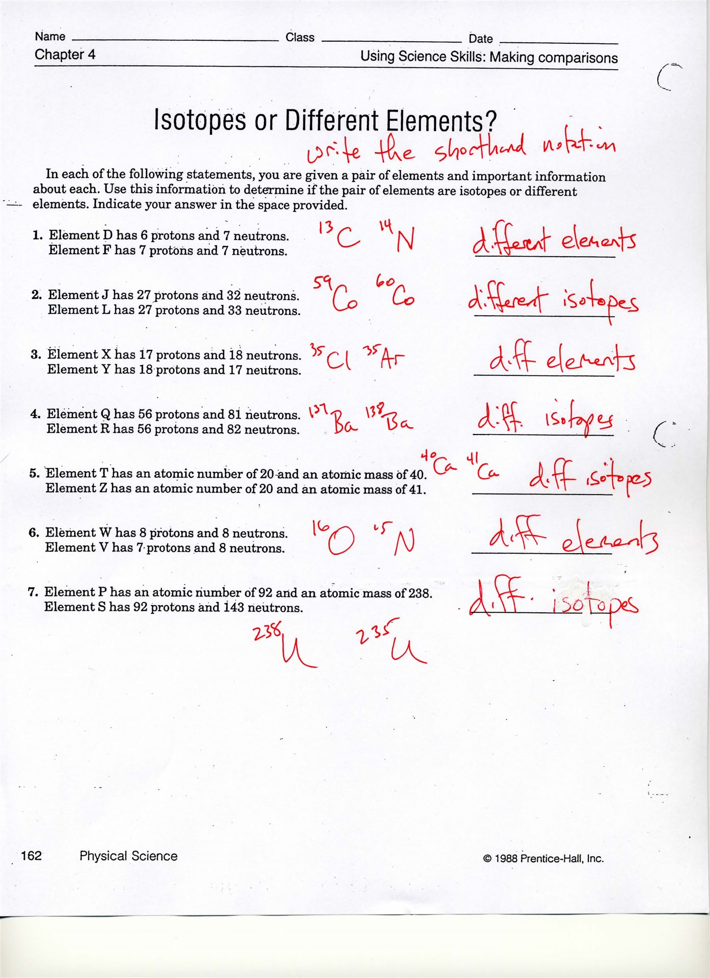 History Of The Atom Worksheet Answer Key
